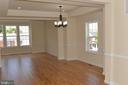 Recessed lights and custom chandelier - 5509 C ST SE, WASHINGTON