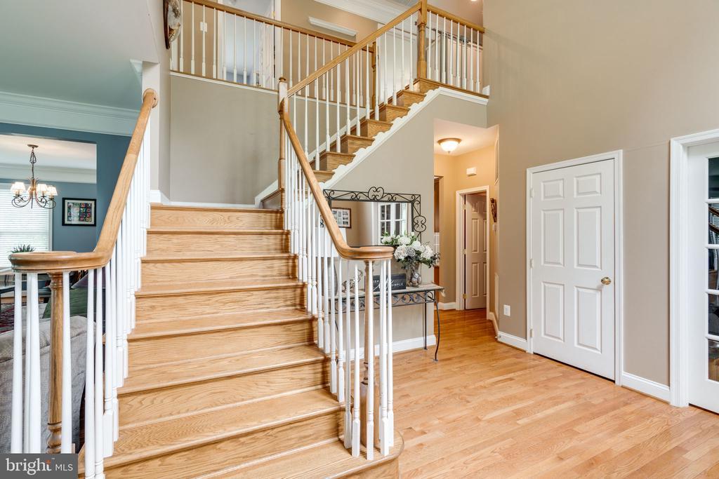 Eye catching Staircase - 204 SAIL CV, STAFFORD