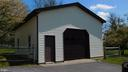 Extra Tall detached garage for trucks /Supplies - 7839 RIDGE RD, FREDERICK