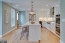 Solid Oak hardwood floors - 517 13TH ST NE, WASHINGTON