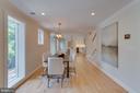 Full length windows for a flood of light - 517 13TH ST NE, WASHINGTON