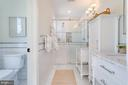 Master Bathroom with separate Toilet Closet - 517 13TH ST NE, WASHINGTON