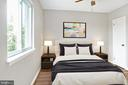 Virtual Staging of Front Bedroom - 323 36TH ST NE, WASHINGTON