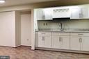 NEW Granite Wet Bar .  Custom Cabinets & Wine Rack - 1693 ALICE CT, ANNAPOLIS