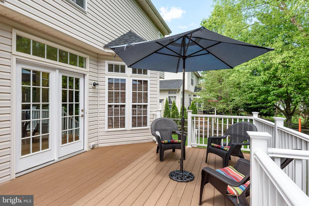 Great for entertainment - 20436 RIVER BANK ST, STERLING