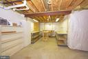 Lower Level - Workshop/Storage - 5809 HOLLYS WAY #77, NEW MARKET