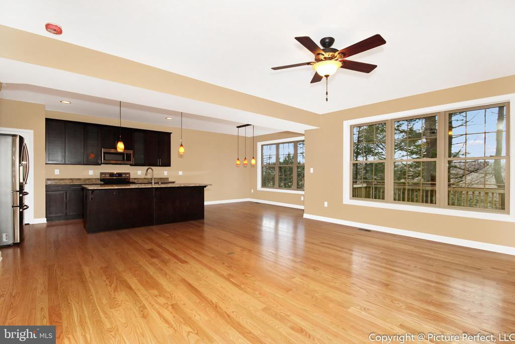 Open floorplan - 6430 LAKERIDGE DR, NEW MARKET