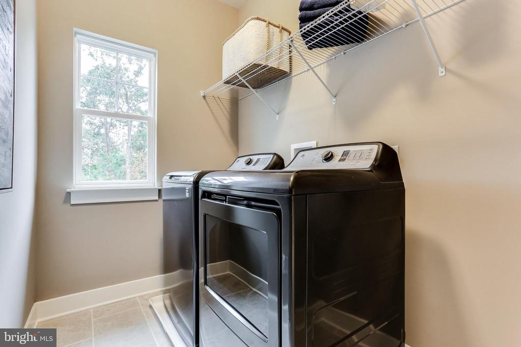 Upstairs laundry room - 2009 GAILS LN, MOUNT AIRY