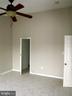 Master Bedroom, vaulted ceiling - 12062 ETTA PL, BRISTOW