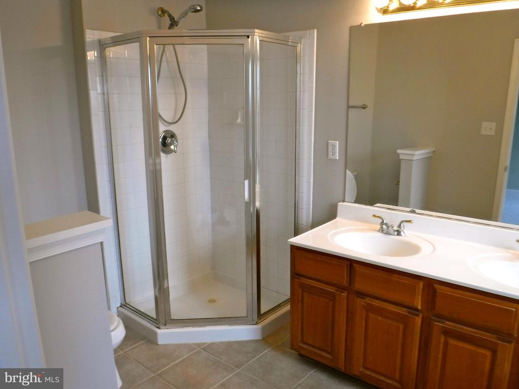 Master Bath, separate shower & soaker tub - 12062 ETTA PL, BRISTOW
