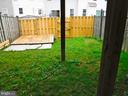 Fully fenced yard, wooden pad for storage/ shed - 12062 ETTA PL, BRISTOW