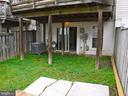 Privacy fenced back yard - 12062 ETTA PL, BRISTOW