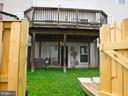 Fenced back yard - 12062 ETTA PL, BRISTOW