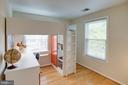 Bedroom #2 with Gleaming Hardwood Floors - 1542 DEER POINT WAY, RESTON