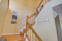 Hardwood Stairs to Upper Level - 1542 DEER POINT WAY, RESTON