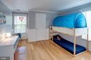 Bedroom #3 Gleaming Hardwood Floors - 1542 DEER POINT WAY, RESTON