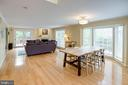 Sun-Filled Dining and Living Areas - 1542 DEER POINT WAY, RESTON