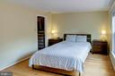 Master Suite with Large Walk-In Closet - 1542 DEER POINT WAY, RESTON