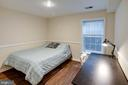Lower Level Bedroom #4/Office with Tile Flooring - 1542 DEER POINT WAY, RESTON