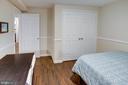 Lower Level Bedroom #4/Office - 1542 DEER POINT WAY, RESTON