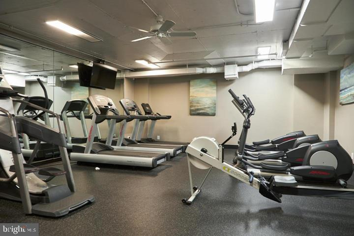 Indoor Fitness, Weight & Exercise Rooms - 3800 POWELL LN #PH 30, FALLS CHURCH