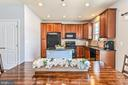Dining off kitchen - 22944 ROSE QUARTZ SQ, BRAMBLETON