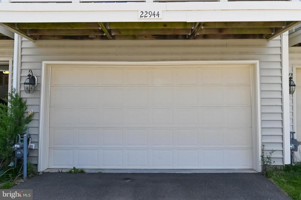 2  Car Garage at the back of the house - 22944 ROSE QUARTZ SQ, BRAMBLETON
