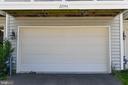2  Car Garage at the back of the house - 22944 ROSE QUARTZ SQ, BRAMBLETON