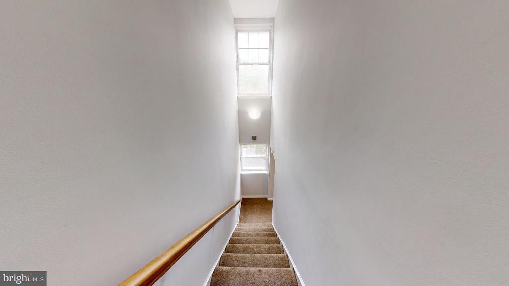 Let's head upstairs.... 4 bedrooms 3 baths - 2318 18TH ST NE #2318, WASHINGTON