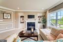 Private fireplace in owner's suite - 14732 RAPTOR RIDGE WAY, LEESBURG