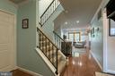 Gleamaing hardwood floors - 12153 STALLION CT, WOODBRIDGE