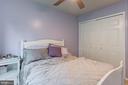 Bedroom2  has custom built-in closet. - 12153 STALLION CT, WOODBRIDGE