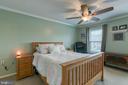 Large master bedroom. - 12153 STALLION CT, WOODBRIDGE