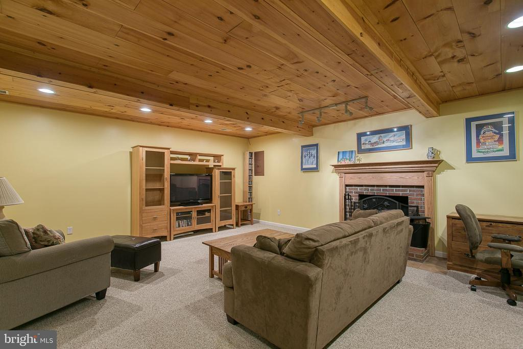 Check out this rec room in the basement! - 12153 STALLION CT, WOODBRIDGE