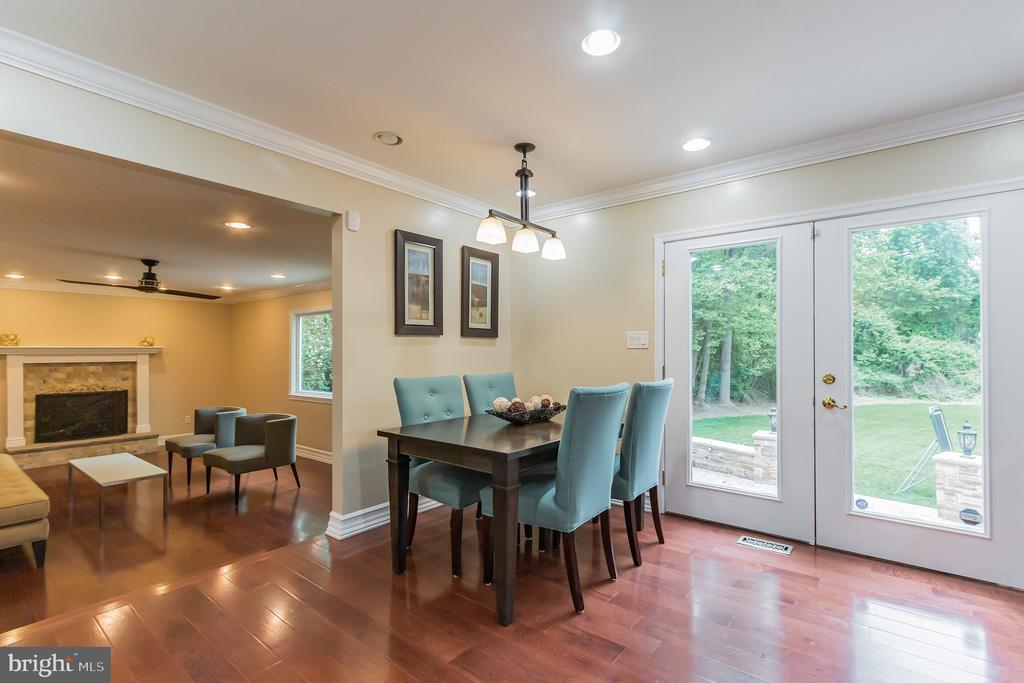 Double Patio Doors - 7613 DWIGHT DR, BETHESDA