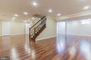 Finished Lower Level - 7613 DWIGHT DR, BETHESDA