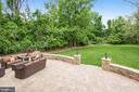 Stone Patio For Relaxation & Entertaining - 7613 DWIGHT DR, BETHESDA