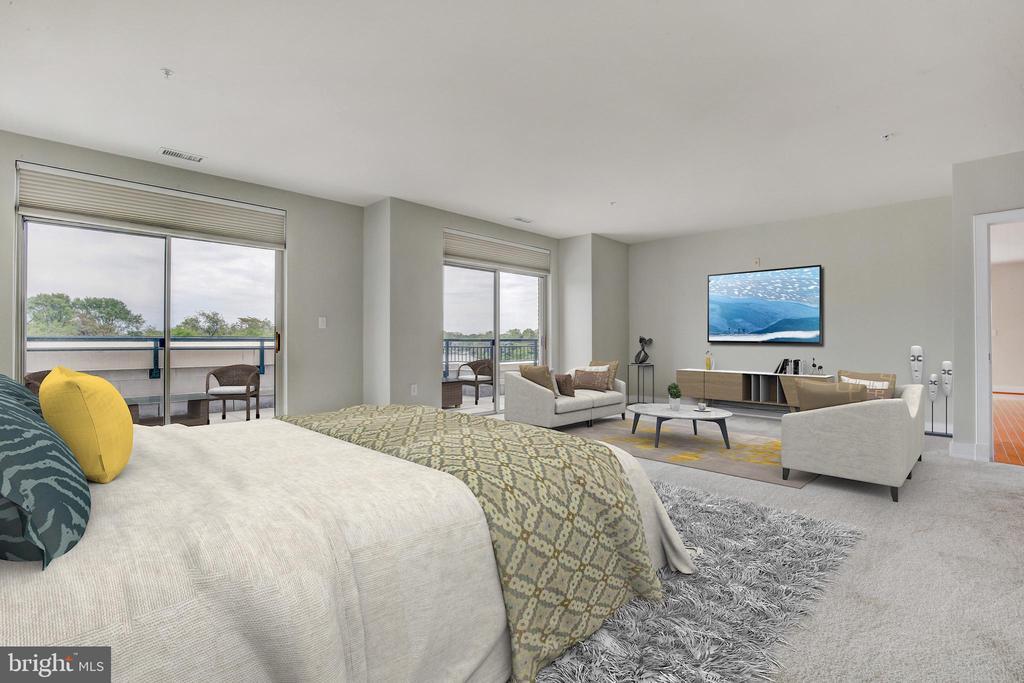 Master Bedroom - 66 FRANKLIN ST #503, ANNAPOLIS