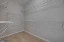 Walk-in Closet - 13335 TIVOLI FOUNTAIN CT, GERMANTOWN
