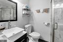 En-Suite Master Bathroom (1 of 2) - 10100 LITTLE POND PL #1, MONTGOMERY VILLAGE