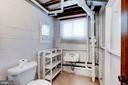 Half-bath on lower level - 4625 EDGEFIELD RD, BETHESDA