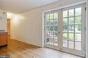 Lower Level Walk Out French Doors to the front - 16194 SHEFFIELD DR, DUMFRIES