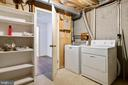 Utility Room with Washer and Dryer - 16194 SHEFFIELD DR, DUMFRIES
