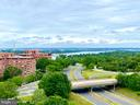 Views directly from unit 1010! - 1600 N OAK ST #1010, ARLINGTON