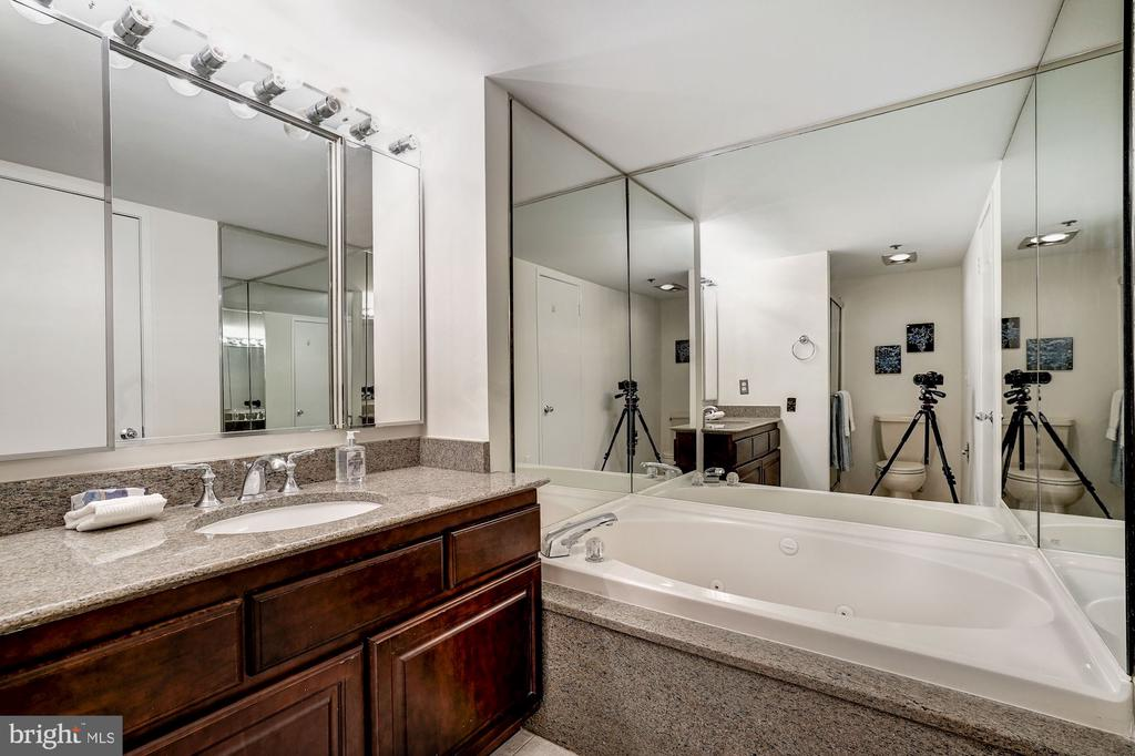 Master Bathroom with Tub - 1600 N OAK ST #1010, ARLINGTON