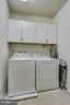 Laundry Room with New Cabinets for Extra Storage - 20505 LITTLE CREEK TER #203, ASHBURN