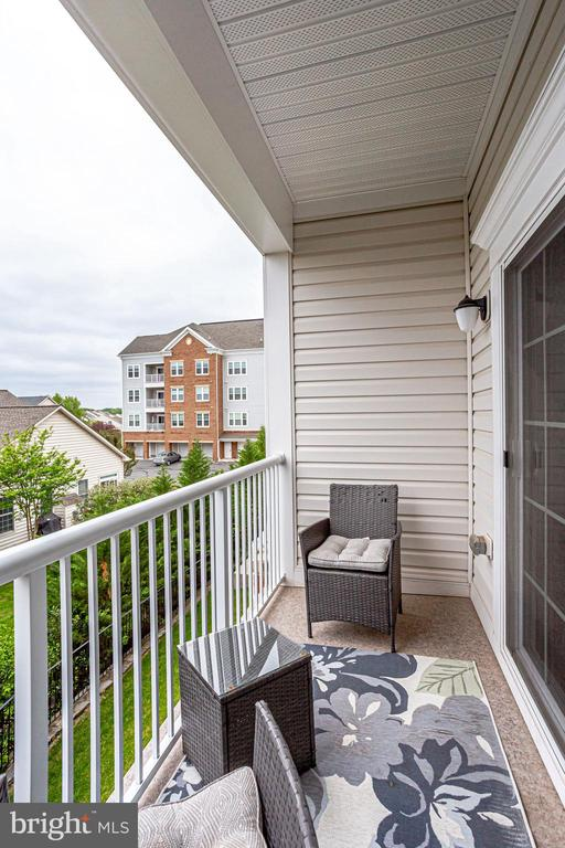 Enjoy a Glass of Wine or a Cup of Coffee! - 20505 LITTLE CREEK TER #203, ASHBURN