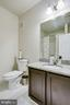 Second Bath with Upgraded TallerCabinet & Granite - 20505 LITTLE CREEK TER #203, ASHBURN