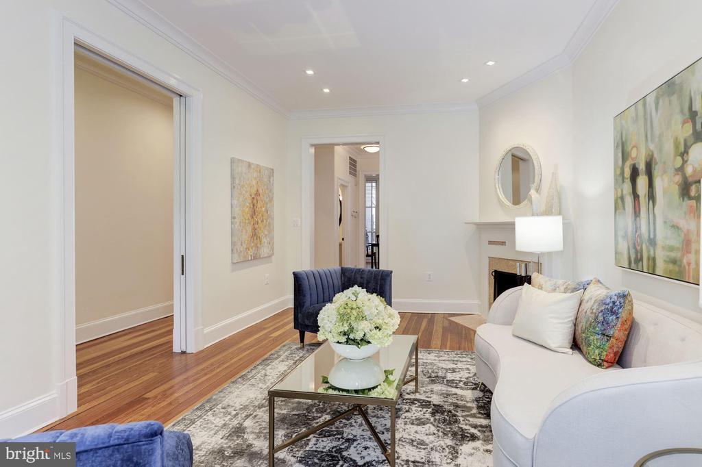 Living Room - 1721 WILLARD ST NW, WASHINGTON