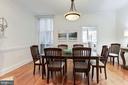 Dining Room - 1721 WILLARD ST NW, WASHINGTON
